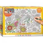 Puzzle  Eurographics-6033-0881 Color Me - Beau Jardin