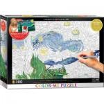 Puzzle  Eurographics-6033-0920 Color Me XXL - Van Gogh Vincent
