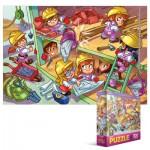 Puzzle  Eurographics-6100-0524 Girl Power - Architectes Construction