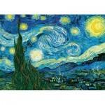Puzzle  Eurographics-6100-1204 Pièces XXL - Van Gogh Vincent - Nuit Etoilée sur le Rhône