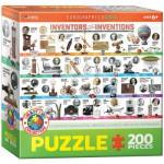 Puzzle  Eurographics-6200-0724 Les Inventeurs et leur Inventions