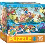 Puzzle  Eurographics-8035-0423 Les 3 Petits Cochons