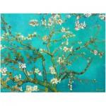 Puzzle  Eurographics-8104-0153 Vincent Van Gogh : Branche d'amandier en fleurs