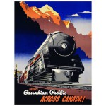 Puzzle  Eurographics-8104-0324 Canadian Pacific Rail - Travel CPR