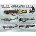 Puzzle  Eurographics-8104-0559 Avions de la 2ème guerre mondiale