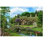 Puzzle  Eurographics-8500-0457 Cottage Cobble Walk