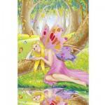 Puzzle  Schmidt-Spiele-56014 La sylphide Rosaria