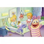 Puzzle  Schmidt-Spiele-56029 Polli au hôpital