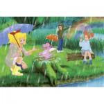 Puzzle  Schmidt-Spiele-56046 Bibi et Tina : Sous l'arc-en-ciel