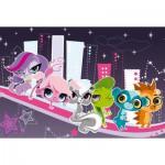 Puzzle  Schmidt-spiele-56060 Littlest Pet Shop - Les Lumières de la Ville