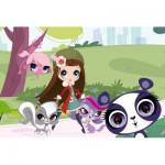 Puzzle  Schmidt-Spiele-56062 Littlest Pet Shop - Promenade dans le Parc