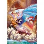 Puzzle  Schmidt-Spiele-56106 Île des dragons