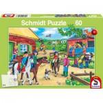 Puzzle  Schmidt-Spiele-56127 Vacances Equestres