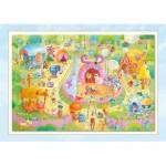 Puzzle  Schmidt-Spiele-56170 Sorgenfresser: Manège Gratuit!