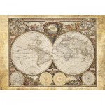 Puzzle  Schmidt-Spiele-58178 Carte historique du monde