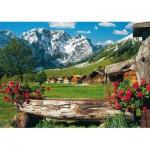 Puzzle  Schmidt-Spiele-58192 Autriche - Allemagne : Le massif du Karwendel