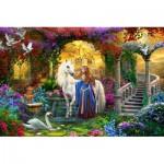 Puzzle  Schmidt-Spiele-58210 Dans le Jardin de la Fée