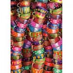Puzzle  Schmidt-Spiele-58228 Tasses Colorées