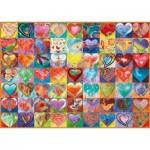 Puzzle  Schmidt-Spiele-58295 Coeur à Coeur