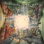 Puzzle  Schmidt-Spiele-59294 Jardin victorien
