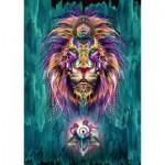 Puzzle  Schmidt-Spiele-59325 Chris Saunders, Lion