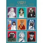 Puzzle  Schmidt-Spiele-59346 Pets Rock, Histoire