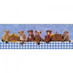 Puzzle  Schmidt-Spiele-59360 Anne Geddes : Picnic des Oursons