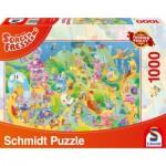 Puzzle  Schmidt-Spiele-59368 Sorgenfresser: Prêt Prêts, Partez!