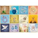 Puzzle  Schmidt-Spiele-59380 Anne Geddes - Bébés du Zodiaque