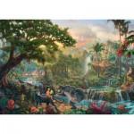 Puzzle  Schmidt-Spiele-59473 Thomas Kinkade - Le Livre de la Jungle