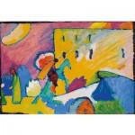 Puzzle-Michele-Wilson-A168-1000 Puzzle en Bois - Kandinsky : Improvisation III