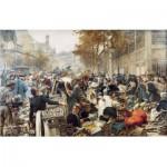 Puzzle-Michele-Wilson-A174-750 Puzzle en Bois - Léon Lhermitte : Les Halles de Paris
