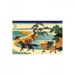 Puzzle-Michele-Wilson-A180-350 Puzzle en Bois - Hokusai : Les Champs de Sekiya