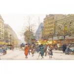 Puzzle-Michele-Wilson-A186-650 Puzzle en Bois -  Eugène Galien-Laloue : Le Théâtre du Gymnase
