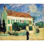 Puzzle-Michele-Wilson-A189-650 Puzzle en Bois - Van Gogh Vincent : La Maison Blanche, 1890