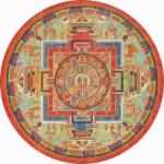 Puzzle-Michele-Wilson-A272-350 Puzzle rond : Mandala de Sitâtapatrâ