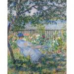 Puzzle  Puzzle-Michele-Wilson-A337-750 Monet Claude : Terrasse à Vétheuil