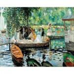 Puzzle-Michele-Wilson-A450-1200 Puzzle en Bois - Renoir Auguste : La Grenouillère, 1869