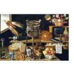 Puzzle-Michele-Wilson-A498-750 Puzzle en Bois - Jacques Linard: Les Cinq Sens