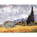 Puzzle  Puzzle-Michele-Wilson-A723-750 Van Gogh : Les blés jaunes