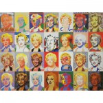 Puzzle  Puzzle-Michele-Wilson-A728-350 Giovanopoulos : Marylin Monroe