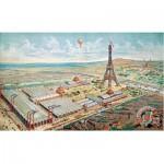 Puzzle  Puzzle-Michele-Wilson-A932-750 Gravure de Paris en 1889