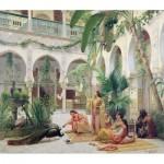 Puzzle-Michele-Wilson-H170-300 Puzzle en Bois - Albert Girard: La Cour du Harem