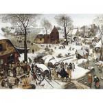 Puzzle  Puzzle-Michele-Wilson-H58-200 Brueghel : Le  dénombrement de Bethléem