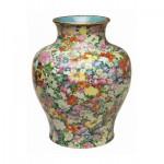 Puzzle-Michele-Wilson-P130-250 Puzzle en Bois - Art Chinois : Vase Mille Fleurs