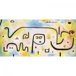 Puzzle-Michele-Wilson-W182-12 Puzzle en Bois - Paul Klee: Insula Dulcamara