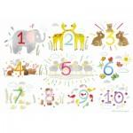 Puzzle-Michele-Wilson-W560-12 Puzzle en Bois - Les Chiffres
