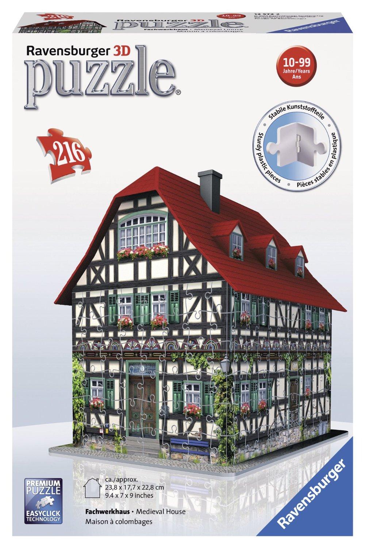 Puzzle 3d maison m di vale 216 teile ravensburger for Piece 3d en ligne