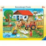 Puzzle  Ravensburger-06020 Qu'est-ce qui doit être où?