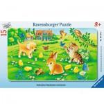 Ravensburger-06111 Puzzle Cadre - Bébés Animaux